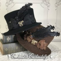 <img class='new_mark_img1' src='https://img.shop-pro.jp/img/new/icons50.gif' style='border:none;display:inline;margin:0px;padding:0px;width:auto;' />Enchanted Hat (2色展開)