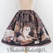 QueenCat〜秘密の書斎〜50丈スカート(黒)