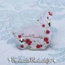 Rose Swan Ring〜Dolled Up Ring