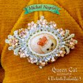 Michal Negrin×Enchantlic Enchantilly★Queen Cat バレッタ