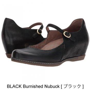 【ダンスコ・ロラリー】dansko LORALIE・Black Burnished Nubuck[ブラック]