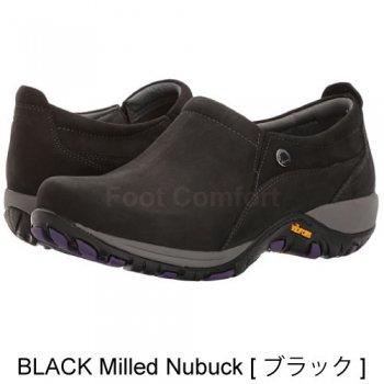 【ダンスコ・パティ】dansko PATTI・BLACK Milled Nubuck [ブラック]