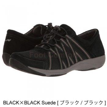 【ダンスコ オナー】dansko HONOR・BLACK ×BLACK  Suede  [ブラック×ブラック]