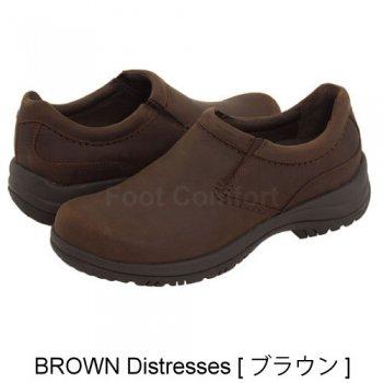 Men's【ダンスコ・ウィン】dansko  WYNN・BROWN  Distressed[ブラウン]