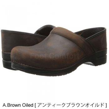 Men's[ダンスコ・プロフェッショナル]dansko Professional・A.BROWN Oiled  [アンティークブラウンオイルド]