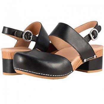 【ダンスコ・マリン】dansko MALIN・Black Full Grain Leather [ ブラック ] (生産終了モデル)