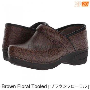【ダンスコ・XP 2.0】dansko XP 2.0 ・Brown Floral Tooled[ブラウンフローラル]