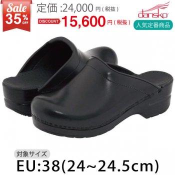 <img class='new_mark_img1' src='https://img.shop-pro.jp/img/new/icons24.gif' style='border:none;display:inline;margin:0px;padding:0px;width:auto;' />35%OFF!!【ダンスコ・ソンヤ】SONJA・Black Cabrio【ブラック キャブリオ】・size:38