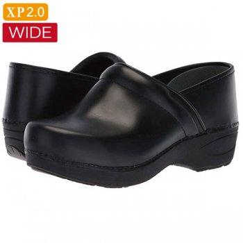 【ダンスコ・XP 2.0・ワイド】dansko XP 2.0 WIDE・Black Pull Up[ブラック]/(受注発注商品)