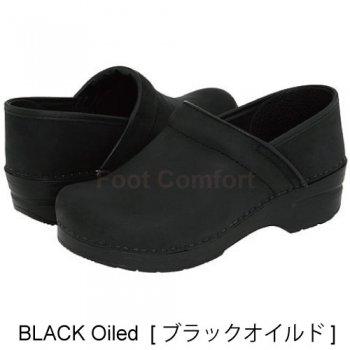 【ダンスコ・プロフェッショナル】dansko Professional ・Black Oiled【ブラック オイルド】