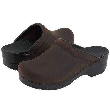 【ダンスコ・ソンヤ】dansko SONJA・Antique Brown Oiled Leather [アンティークブラウン オイルド]