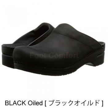 Men's【ダンスコ・カール】dansko KARL・BLACK Oiled[ブラック オイルド]