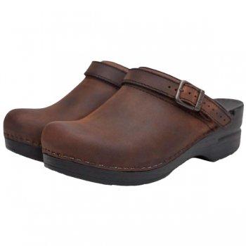 【ダンスコ・イングリッド】dansko INGRID・Antique Brown Oiled Leather [アンティークブラウンオイルド]