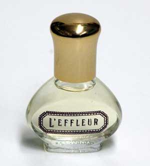 【お取り寄せ】L'EFFLEUR (ル エフレール)0.25 oz (7.5ml) Cologne ミニチュア (箱なし)
