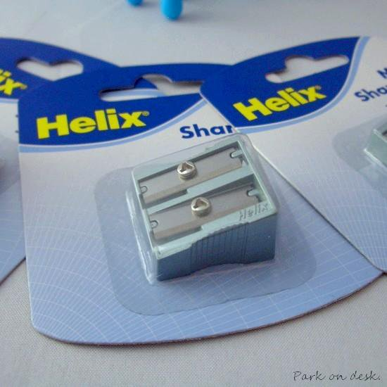 Helix ヘリックス 2穴シャープナー [メタル]