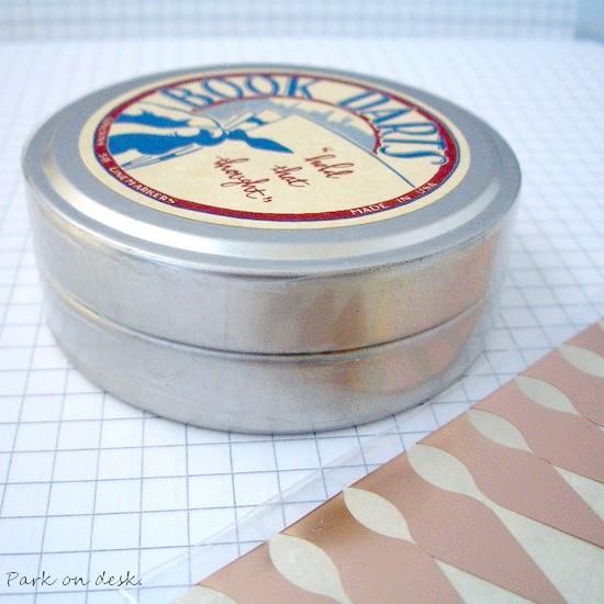 BookDarts ブックダーツ 缶入り 50枚入り シルバー / ブロンズ