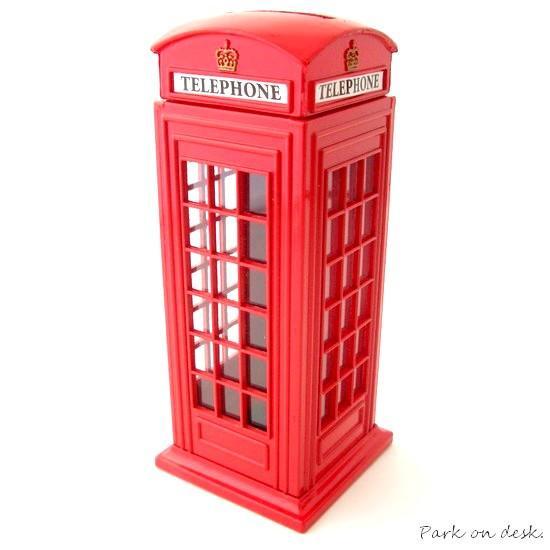 LONDON CITY マネーBANK / ロンドンTELEPHONE BOX 8689