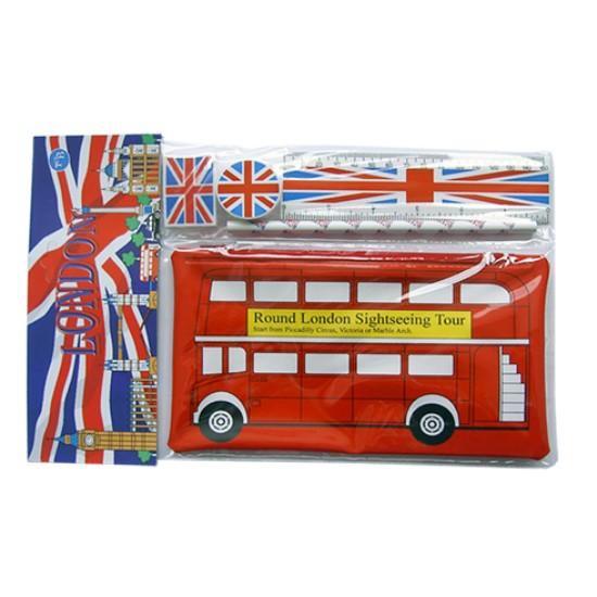 Pencils Cases & School Kits スクールキット ロンドンバス YPC2
