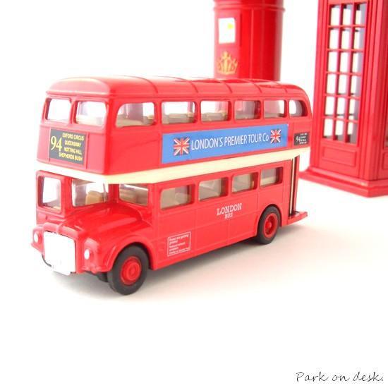 WELLY ウェリー プルバックミニカー 【 ロンドンバス ルートマスター LBU1 】