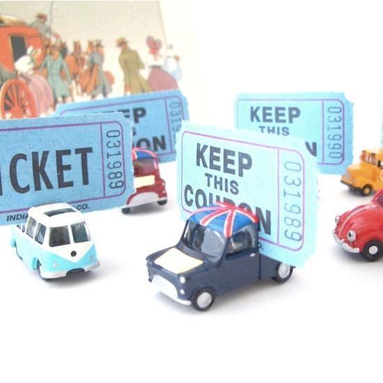 マグネットカードホルダー / mini オールドカーたち