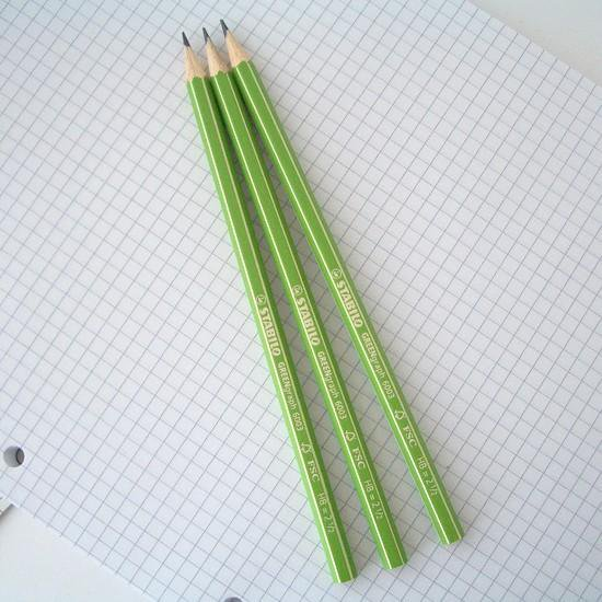 STABILO GREEN graph スタビロ グリーン鉛筆 6003-HB