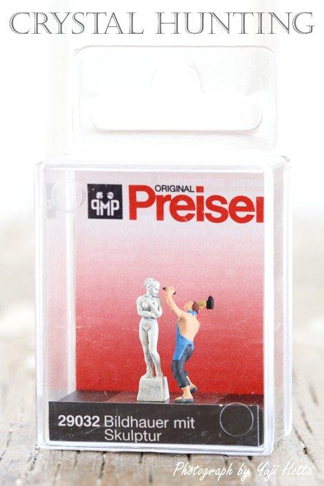 【ミニチュア人形:彫刻家】Preiser(プライザー)社製 No.29032(1/87)