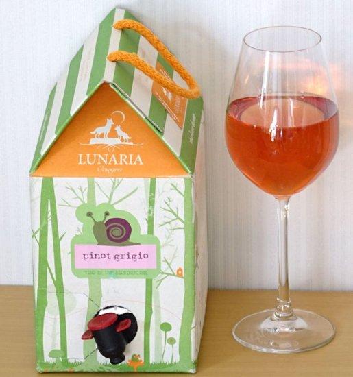 ルナーリアピノグリージョのグラスワイン