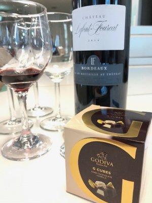 チョコによく合う赤ワイン「シャトー・ラフォン・フルカ」ラジオ関西で紹介!