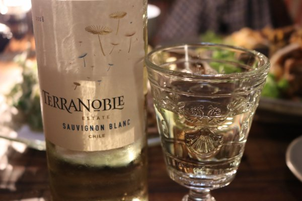 野草と山菜を美味しく味わう!チリのコスパワイン テラノブレ ソーヴィニョンブラン(BYふじこ)