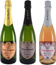 【コスパすぎる泡】カヴァ ヴィーニャ・アデライダ3種飲み比べセット(9月17日以降の出荷)
