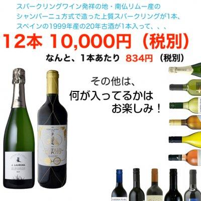 【シャンパーニュを超える泡と20年古酒入り】「おーみんのワイン福袋2020」送料無料