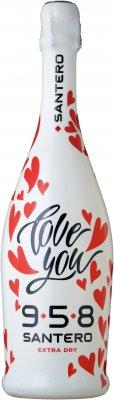 可愛すぎるハートのデザインボトル「サンテロ LOVE YOU(ラヴユー) エキストラドライ」