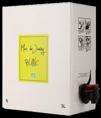 マス・ド・ジャニーニ ブラン バッグ・イン・ボックス 3L(通常のワイン4本分)