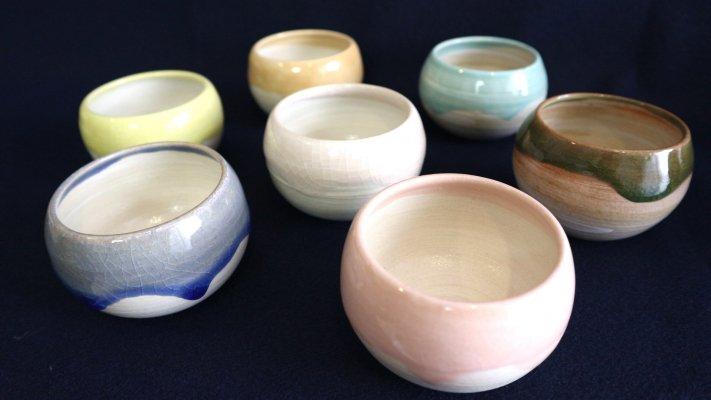 陶器のワイン用酒器【韻 -inn-】SAKAZKI(さかずき)