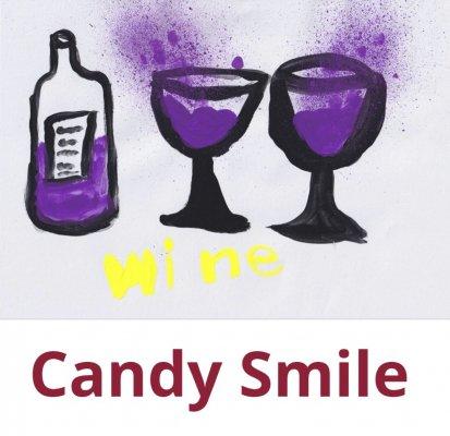 キャンディースマイル アートラベル レッドワイン Candy Smile ART Label