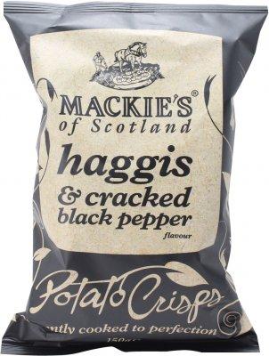 「マッキーズ ハギス&ブラックペッパー 150g」ちょっと贅沢な ワインに合うおつまみ