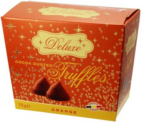 「デラックス トリュフ チョコレート オレンジ 175g」気軽に楽しめる ワインに合うおつまみ
