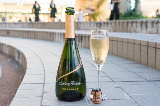 【ひらかた市の駅ワインシリーズ】くずはワイン「ナバロ・コレアス エキストラ・ブリュット」