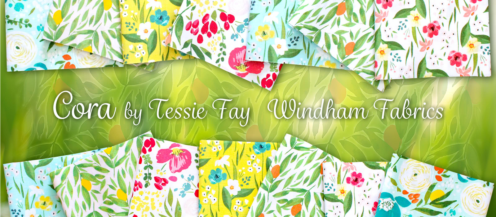 Windham Fabrics Cora Collection by Tessie Fay