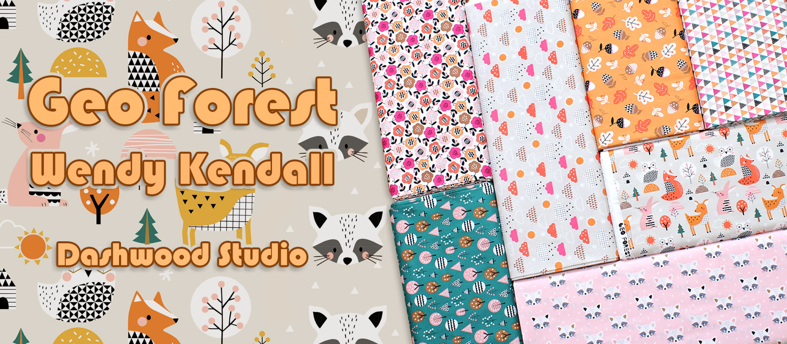 Dashwood Studio Geo Forest Collection by Wendy Kendall