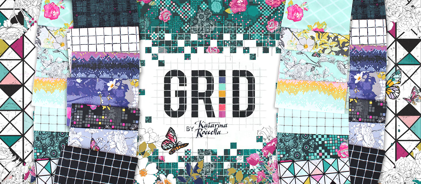 Art Gallery Fabrics Grid Collection