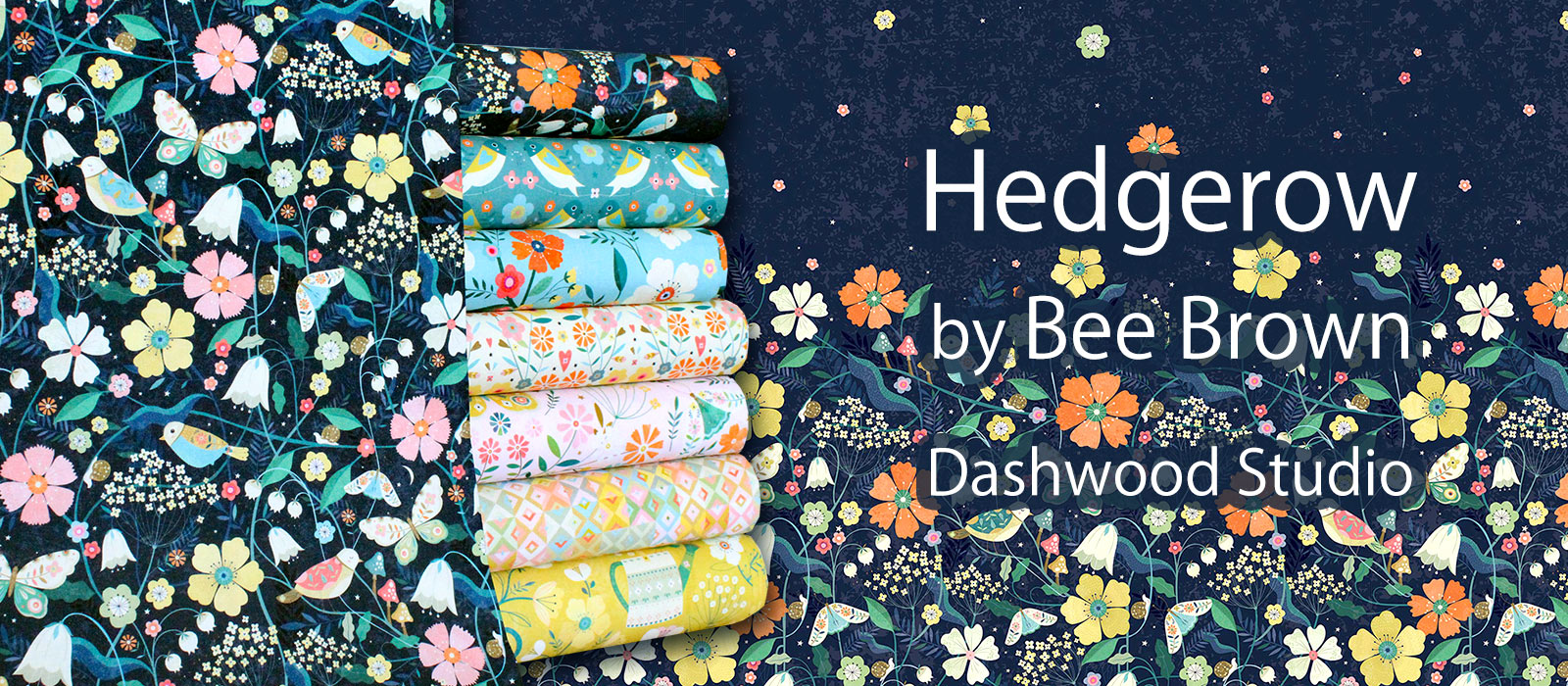 Dashwood Studio Hedgerow Collection by Bee Brown