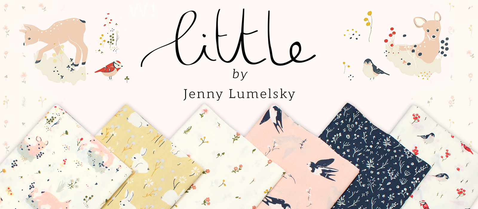 Birch Fabrics Little Collection by Jenny Ronen