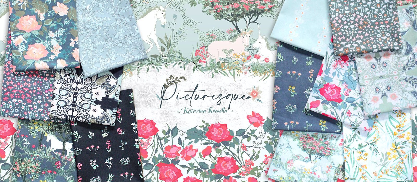 Art Gallery Fabrics Picturesque Collection by Katarina Roccella