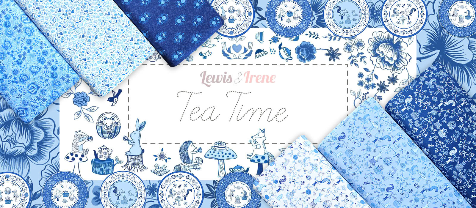 Lewis & Irene Teatime Collection