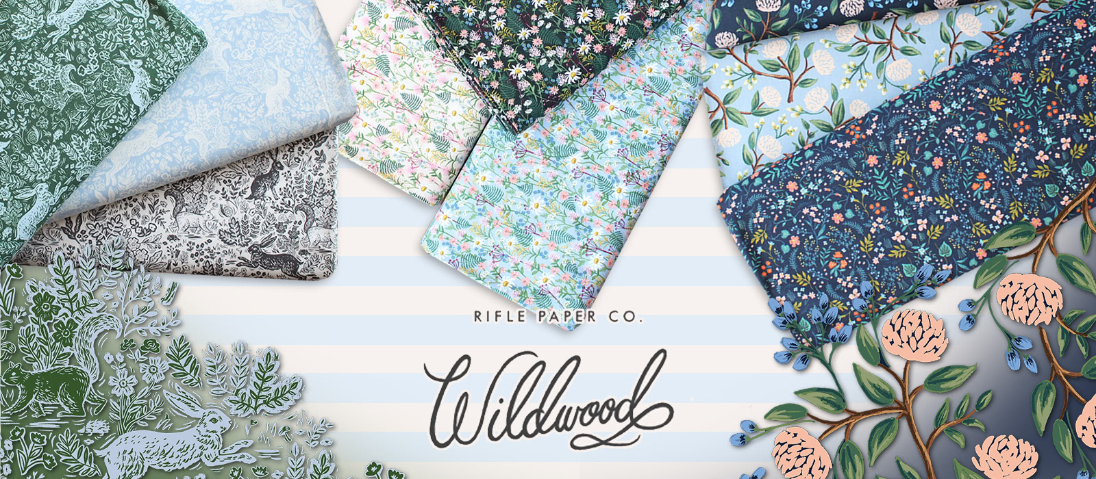 COTTON+STEEL Wildwood Collection by Rifle Paper Co.