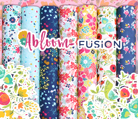 Art Gallery Fabrics Abloom Fusion Collection