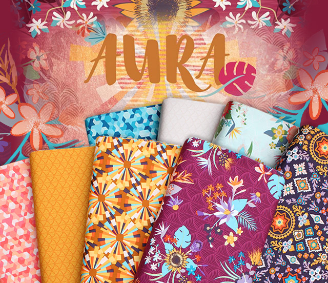 Art Gallery Fabrics Aura Collection