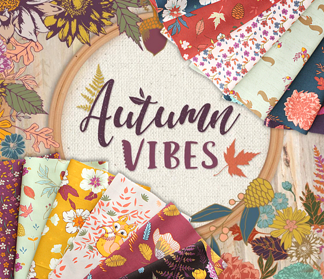 Art Gallery Fabrics Autumn Vibes Collection