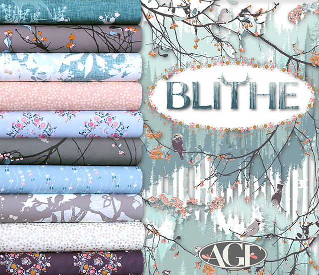 Art Gallery Fabrics Blithe Collection by Katarina Roccella